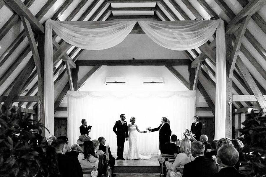 Beautiful wedding at Old Kent Barn